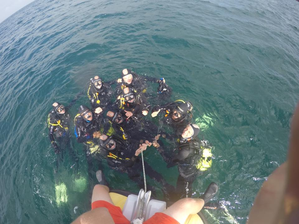 Eco-Dive Baptism in Cascais